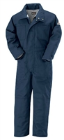 Bulwark CLC8 Navy Deluxe Insulated EXCEL FR ComforTouch Coverall