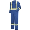 Bulwark CMBCRB 7 Oz CoolTouch2 Royal Blue Premium Coverall With Reflective Trim