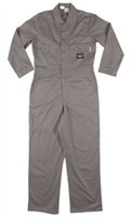 RASCO GFF752 7.5 Oz Gray Cotton Fire Retardant Coverall