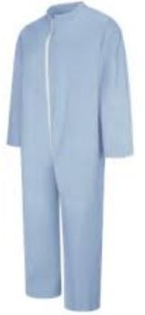 Bulwark KEE2 Sky Blue Extend FR Disposable Flame-Resistant Coverall