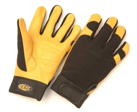 Seattle Glove MCDV24 Deerskin Palm Mechanic Glove