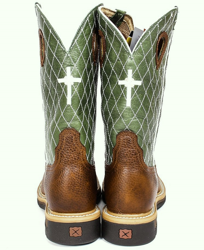 cd7f8937bb0 Twisted X Men's Lite Cowboy Steel Toe Work Boot MLCS002
