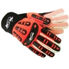 Jester MX230 MX-Series Impact Glove Orange Dots