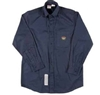RASCO NFB761 7.5 Oz Navy Fire Retardant Long Sleeve Dress Shirt