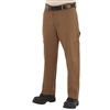 Bulwark PLJ8BD Men's Brown Duck EXCEL FR 11 Oz ComforTouch Dungaree