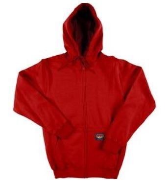 47c04c57a2ab RASCO RSF1153 Red Fire Retardant Long Sleeve Cotton Sweatshirt