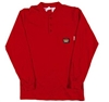 RASCO RTF459 Red Fire Retardant Long Sleeve Cotton Henley