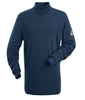 Bulwark SEK2 Navy Flame-Resistant Tagless Mock Turtleneck