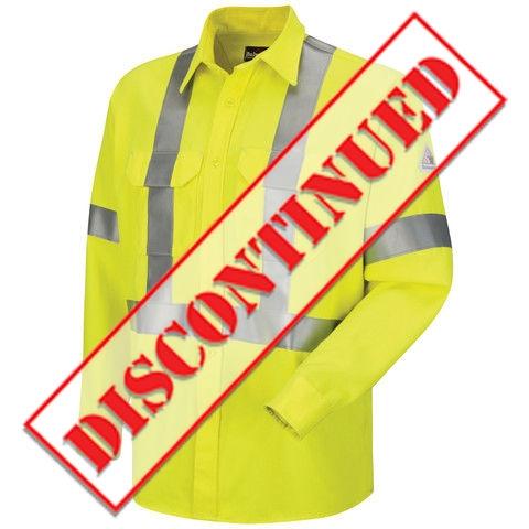 a9713c77f664 Hi-Visibility Uniform Shirt with CSA Reflective Trim - CoolTouch�2 - 7 oz.