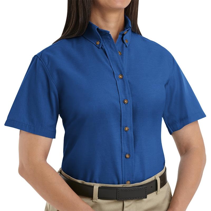 7d0d2b37cce492 Red Kap SP81 Women s Poplin Dress Shirt