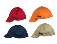 RASCO WEL1007S High Crown Flame Retardant Welder Caps - Assorted Solid Colors
