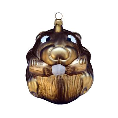 Eager Beaver Ornament