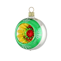 Reflector Ball RetroGreen  2.2""