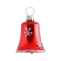Mini Red & Silver Bell