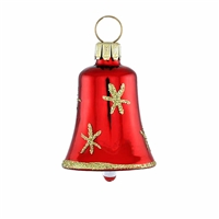 Mini Red & Gold Bell