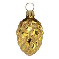 Gold Gloss Pine Cone  Small