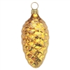 Gold Gloss Pine Cone  Large