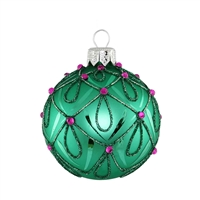 Ball Sophia Green Matt  2.2""