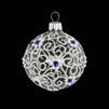Ball Lapis Ble & White Transparent