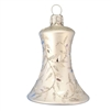 Polish Glass White Delights Bell