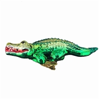 Inge Glas Clip-On Alligator Ornament