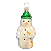 Inge Glas Snowman With Cane