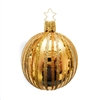 Inge Glas Ball Fancy Stripes Inka Gold