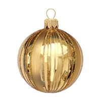 Polish Inka Gold Fancy Stripes Ball