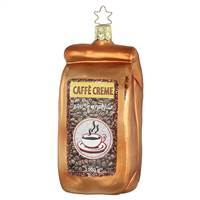 CAFE CREAM BAG OF COFFEE BEANS  4.5T""