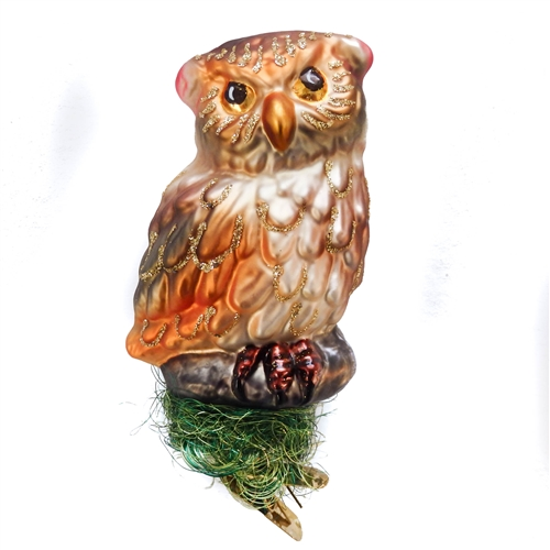 Inge Glas Owl Guardian of the Forest