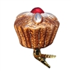 Inge Glass Clip On Cupcake With Cherry