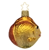Inge Glas Puffer Fish Copper Gold