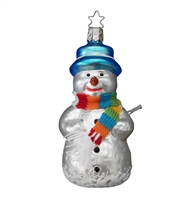 Inge Glas Snowman Heirlooms Collection 4.5""