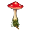 Inge Glas Clip-On Miracle Mushroom W/ Swarovski Elements