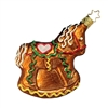 Inge Glas Gingerbread Christmas Rocking Horse