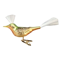 Inge Glas Sanger - Singing Bird Clip-On Ornament