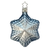 Inge Glas Elegant  Light Blue & White Star