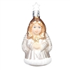 Two-Sided Inge Glas Santa / Angel Ornament