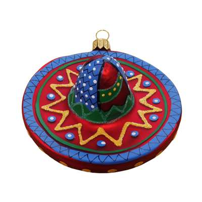 Sombrero Hat Red