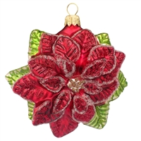 Large Christmas Poinsettia Flower