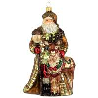 XL Santa With Reindeer Exclusive