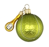 Tennis Ball W/ Racket