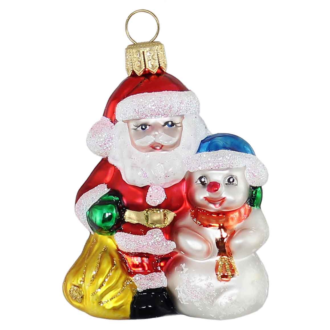German Blown Glass Christmas Ornaments Polish X Mas Decorations