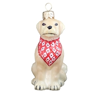 Yellow Labrador - Gold Lab Dog Ornament
