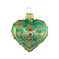 Heart Green Matt  2.5""