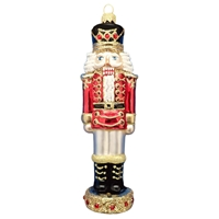 XL Tall Nutcracker Ornament