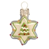 Mini White Star With Christmas Tree
