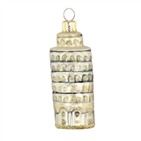 Leaning Tower Of Pisa Italy Ornament
