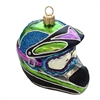 Motocross Snowcross Racing Helmet Ornament