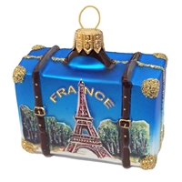 Paris France Suitcase